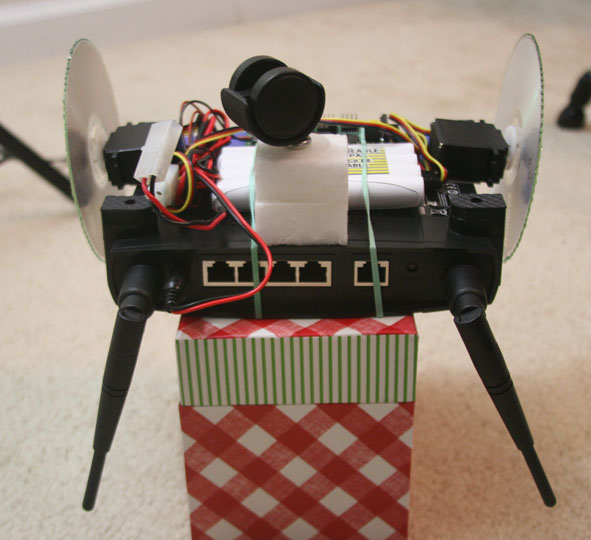 Routerbot v1 on the test stand